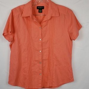 Eddie Bauer Top Fitted size Med